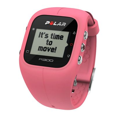 Polar A300 Fitness and Activity Monitor-Pink-Angle View
