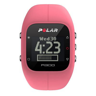 Polar A300 Fitness and Activity Monitor-Pink-Front View