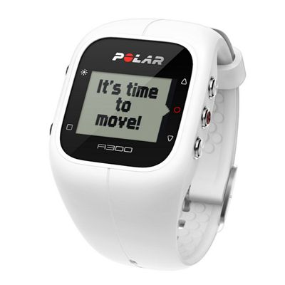 Polar A300 Fitness and Activity Monitor-White-Angle View
