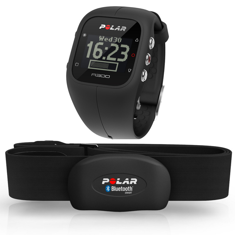 Polar A300 Fitness and Activity Monitor with Heart Rate  Black