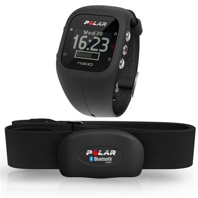 Polar A300 Fitness and Activity Monitor with Heart Rate-Black