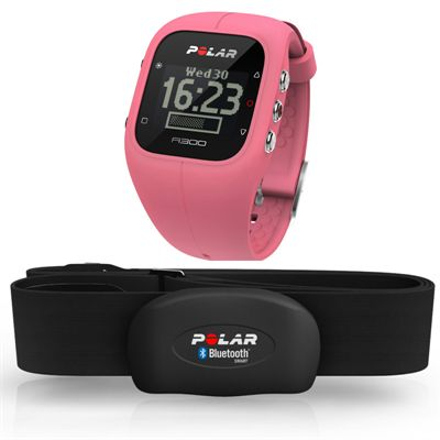 Polar A300 Fitness and Activity Monitor with Heart Rate-Pink