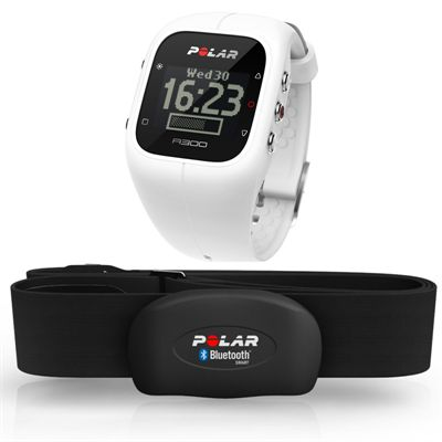 Polar A300 Fitness and Activity Monitor with Heart Rate-White