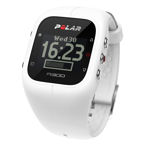 Polar A300 Fitness and Activity Tracker  White