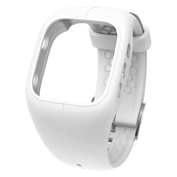 Polar A300 Replacement Strap  White