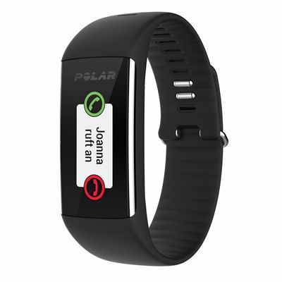 Polar A360 Fitness Tracker with Wrist Heart Rate-Black-Calling