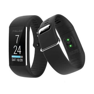 Polar A360 Medium Fitness Tracker with Wrist Heart Rate-Black-Main Image