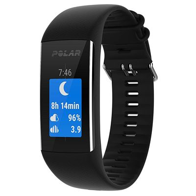 Polar A370 Fitness Tracker with Heart Rate - Black2