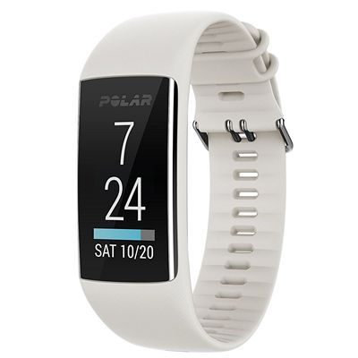 Polar A370 Fitness Tracker with Heart Rate - White2