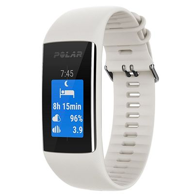 Polar A370 Fitness Tracker with Heart Rate - White3