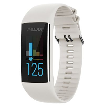 Polar A370 Fitness Tracker with Heart Rate - White