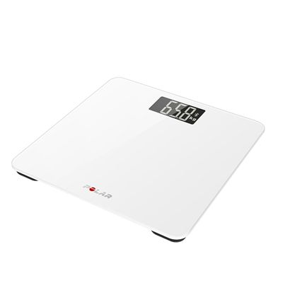 Polar Balance Scale-White-Angle View