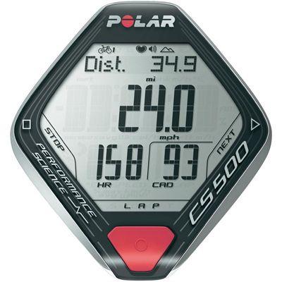 Polar CS500 Plus Cycle Computer with Cadence Sensor