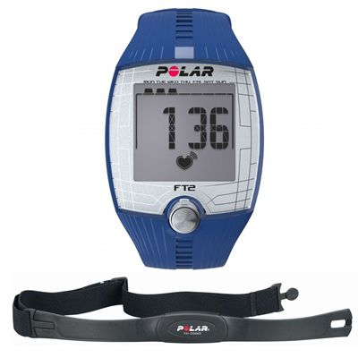 Polar FT2 Heart Rate Monitor - Blue
