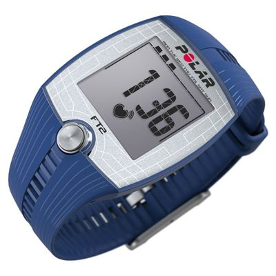 Polar FT2 Heart Rate Monitor - Blue/Side