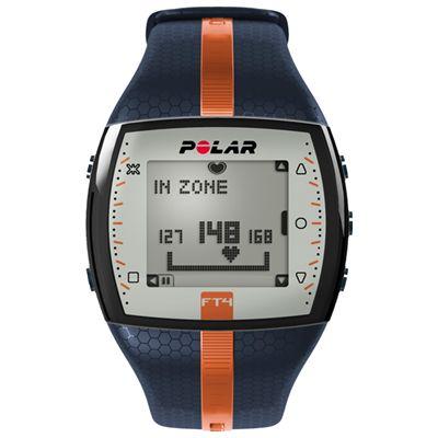 FT4 Heart Rate Monitor - Orange-Blue