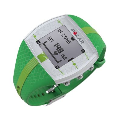 Polar FT4 Heart Rate Monitor - Green - Side
