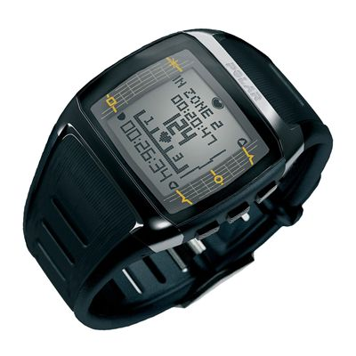 Polar FT60 Male Heart Rate Monitor- Black - Site View