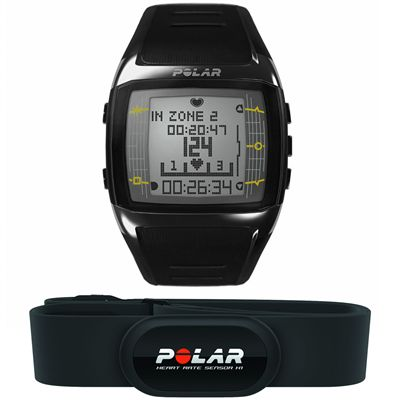 Polar FT60 Male Heart Rate Monitor- Black View