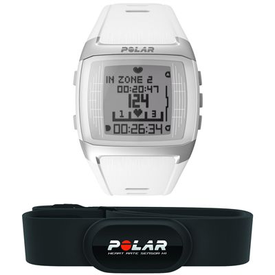 Polar FT60 Male Heart Rate Monitor- White View