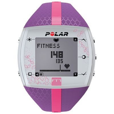 Polar FT7 Heart Rate Monitor - Purple-Pink
