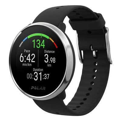 Polar Ignite GPS Fitness Watch with Heart Rate - Black