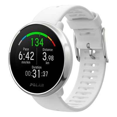 Polar Ignite GPS Fitness Watch with Heart Rate - White