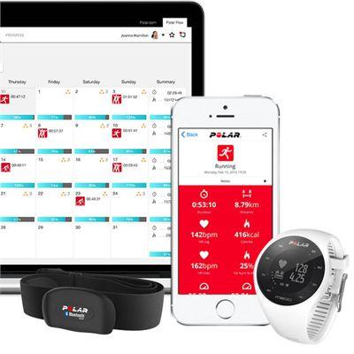 Polar M200 GPS Heart Rate Monitor Running Sports Watch - App