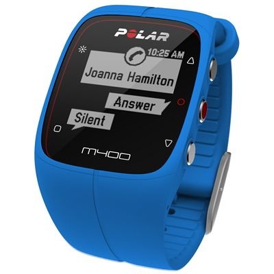 Polar M400 GPS Heart Rate Monitor - Blue