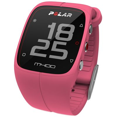 Polar M400 GPS Heart Rate Monitor - Pink