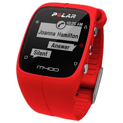 Polar M400 GPS Heart Rate Monitor - Red