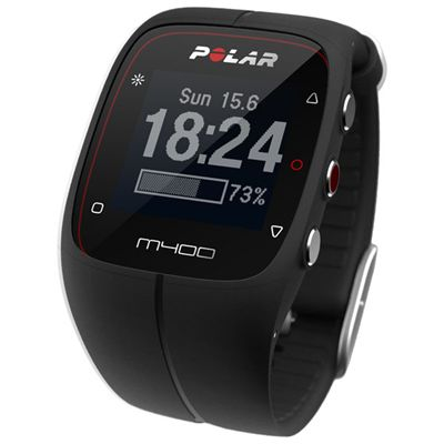 Polar M400 GPS Heart Rate Monitor - Black