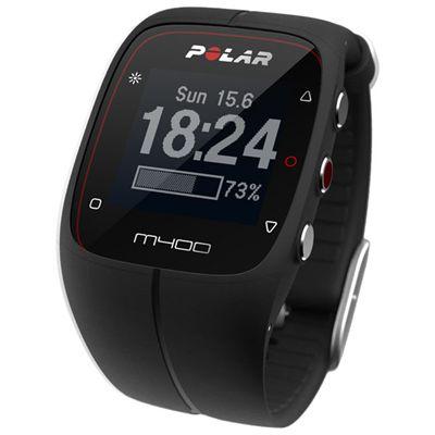 Polar M400 GPS Heart Rate Monitor - Black