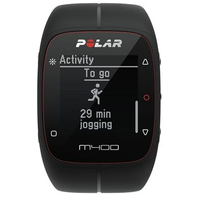 Polar M400 GPS Sports Watch - BlackPolar M400 GPS Sports Watch - Black - Front