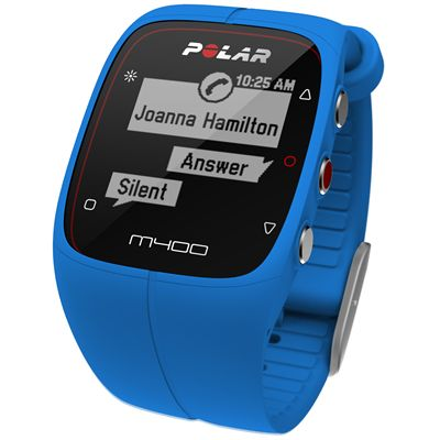 Polar M400 GPS Sports Watch - Blue