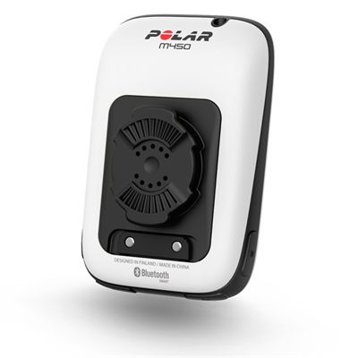 Polar M450 GPS Bike Computer with Heart Rate Sensor - Back View