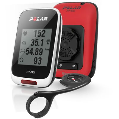 Polar M450 Special Edition GPS Bike Computer with Heart Rate Sensor Image