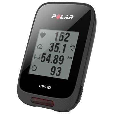 Polar M460 GPS Bike Computer - Side