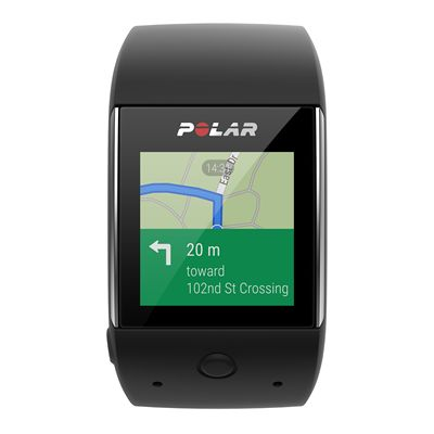 Polar M600 Heart Rate Monitor-Black-Android Map