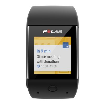 Polar M600 Heart Rate Monitor-Black-Android Notification