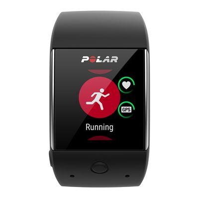 Polar M600 Heart Rate Monitor-Black-Running