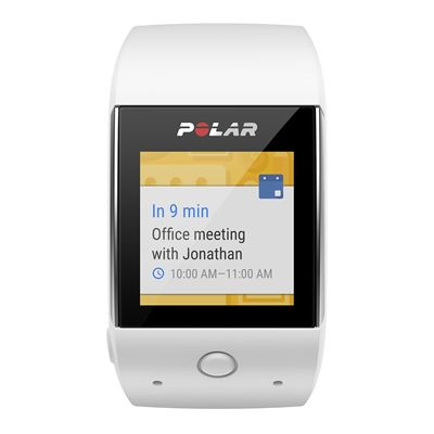 Polar M600 Heart Rate Monitor-White-Android Notification