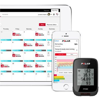 Polar Polar M460 GPS Bike Computer with OH1 Optical Heart Rate Sensor - App