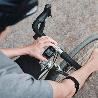 Polar Polar M460 GPS Bike Computer with OH1 Optical Heart Rate Sensor - In Use