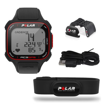 Polar RC3 GPS BIKE Heart Rate Monitor with Altitude