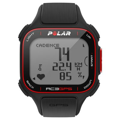 Polar RC3 GPS BIKE Heart Rate Monitor with Altitude Front