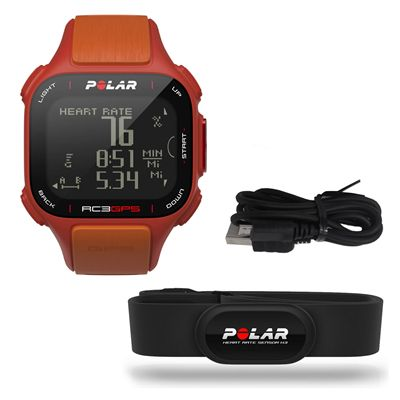 Polar RC3 GPS Heart Rate Monitor - Set