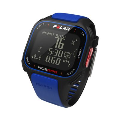 Polar RC3 GPS Limited Edition Heart Rate Monitor Angle View