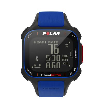 Polar RC3 GPS Limited Edition Heart Rate Monitor Front View