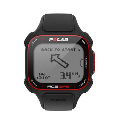 Polar RC3 GPS Sports Watch Without Heart Rate Monitor Front